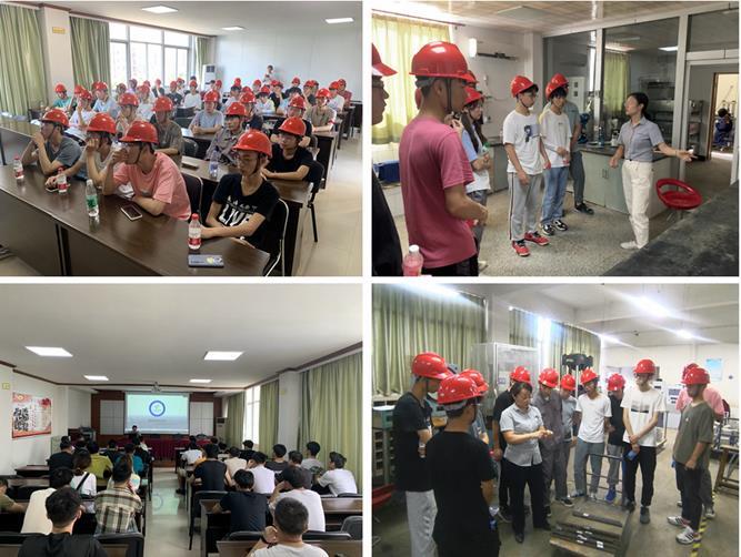 安工大建工学院学生来我公司参观学习