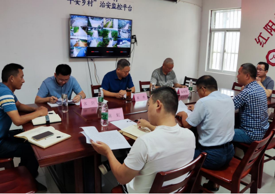 公司帮扶工作组深入红阳村开展走访活动